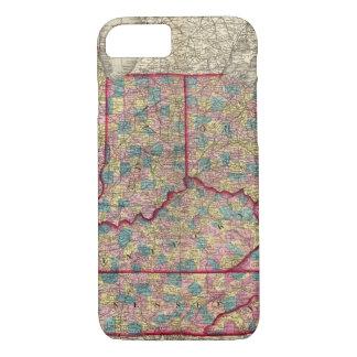 Delaware, Illinois, Indiana, and Iowa iPhone 8/7 Case