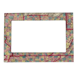 Delaware Illinois Indiana and Iowa Magnetic Frames