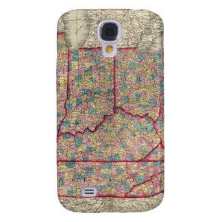 Delaware, Illinois, Indiana, and Iowa Samsung S4 Case