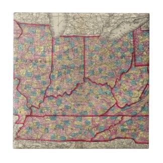 Delaware, Illinois, Indiana, e Iowa Teja Cerámica
