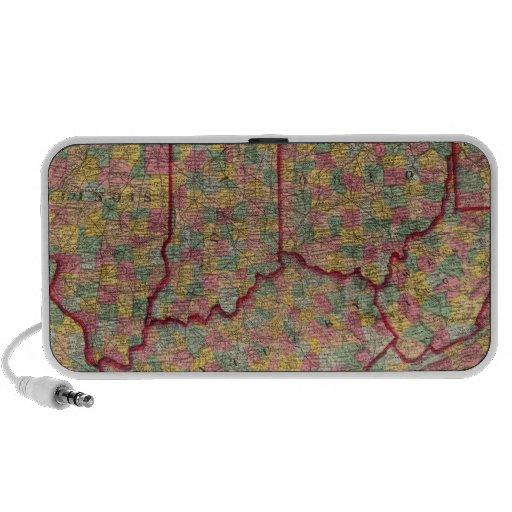 Delaware, Illinois, Indiana, Iowa Carolina del Nor iPhone Altavoz