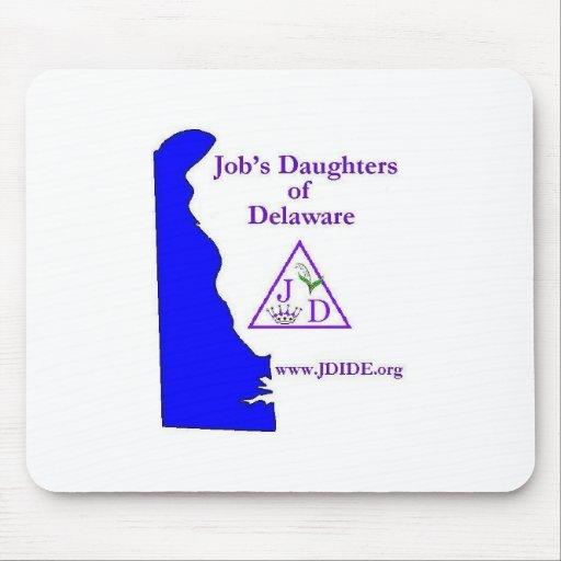 Delaware Job's Daughters Mouse Pad