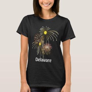 Delaware July 4th Fireworks Ladies T-shirt
