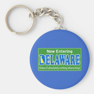 Delaware Key Chain