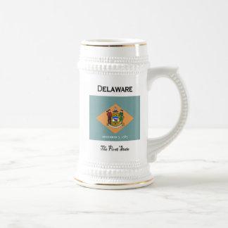 Delaware la primera cerveza Stein del estado Tazas De Café