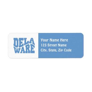 Delaware Custom Return Address Label