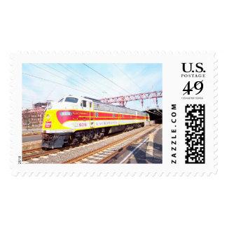 Delaware Lackawanna and Western Locomotive 808 Postage