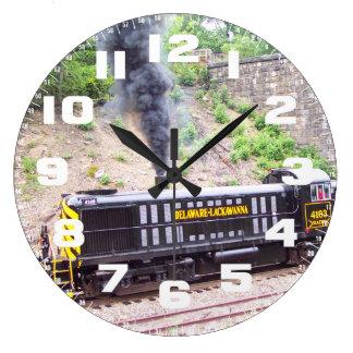Delaware Lackawanna Railroad  Alco RS-3s Clocks
