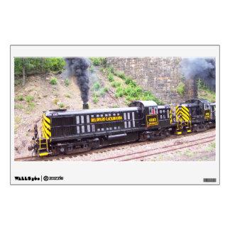 Delaware Lackawanna Railroad Alco RS-3s Wall Sticker