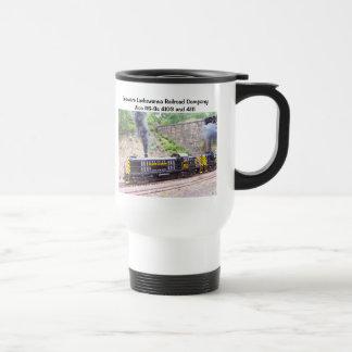 Delaware Lackawanna Railroad Company Alco RS-3s Coffee Mugs
