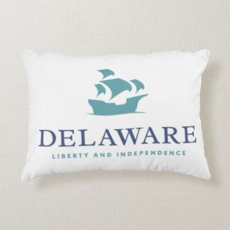 Delaware Liberty and Independence Decorative Pillow