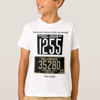 Delaware license plate centennial T-Shirt