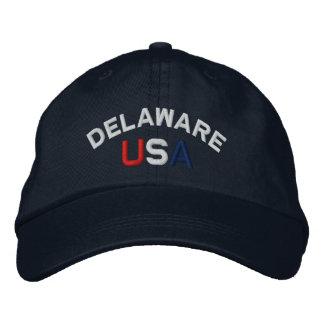 Delaware los E.E.U.U. bordó el gorra de la marina  Gorra De Beisbol