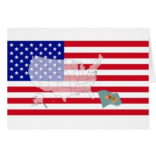 Delaware, los E.E.U.U. Felicitacion