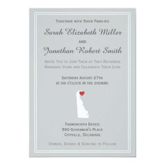 Delaware Love - Customizable Wedding Invitation