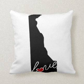 Delaware Love!  Gifts for DE Lovers Pillow