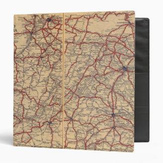 Delaware, Maryland, Virginia, West Virginia Vinyl Binders