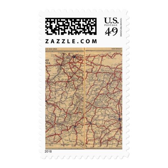 Delaware, Maryland, Virginia, West Virginia Postage