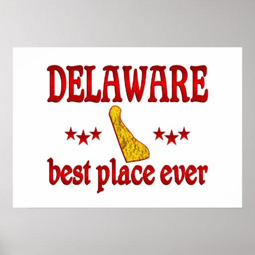 Delaware mejor póster