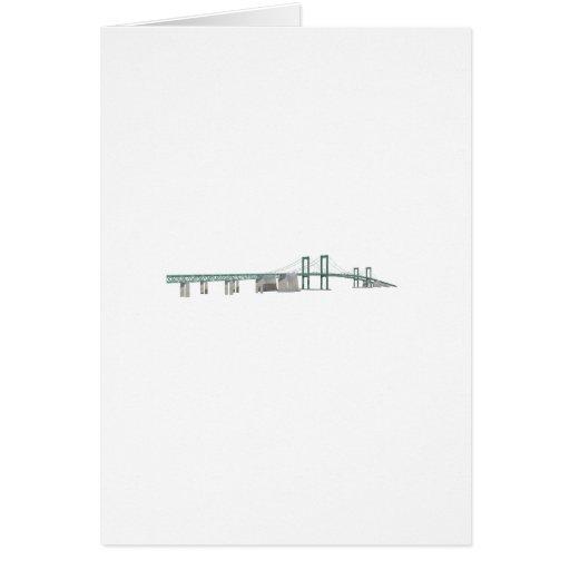 Delaware Memorial Bridge: 3D Model: Cards