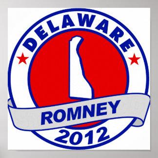 Delaware Mitt Romney Posters