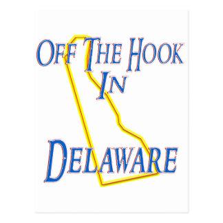 Delaware - Off The Hook Postcard