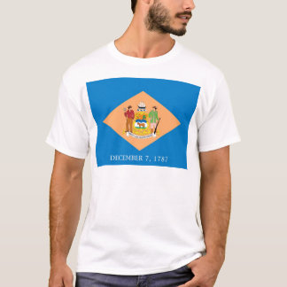 Delaware  Official State Flag T-Shirt