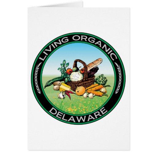 Delaware orgánico felicitación
