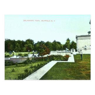 Delaware Park, Buffalo 1910 Vintage Postcards
