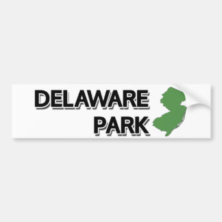 Delaware Park, New Jersey Bumper Sticker