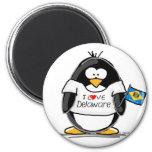 Delaware Penguin Magnet