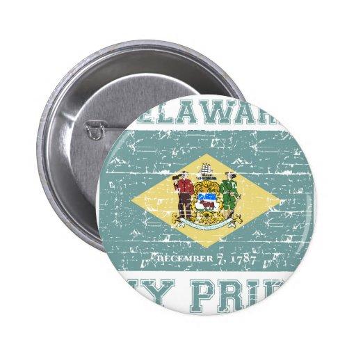 Delaware Pin Redondo De 2 Pulgadas
