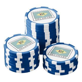 Delaware Poker Chip Set