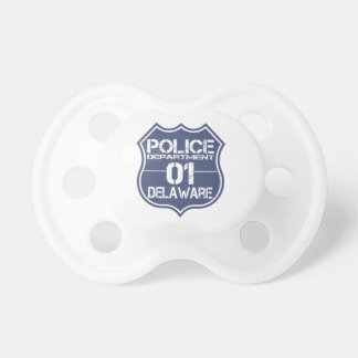 Delaware Police Department Shield 01 BooginHead Pacifier