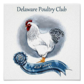 Delaware Poultry Club Canvas Poster