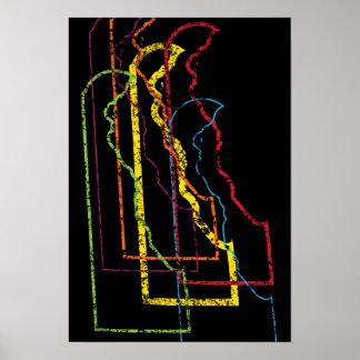 delaware pride blur poster