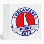 Delaware Rick Perry 3 Ring Binders