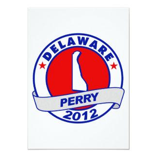Delaware Rick Perry Invitación 12,7 X 17,8 Cm