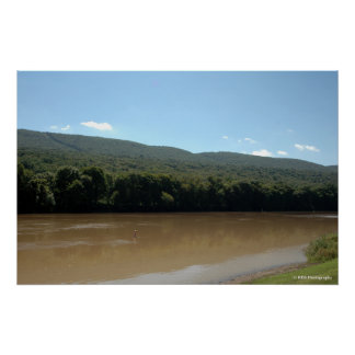 Delaware River in the Poconos print 0033-1