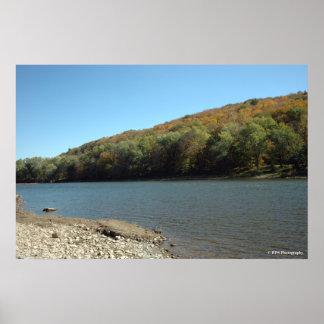 Delaware River in the Poconos.  print 082