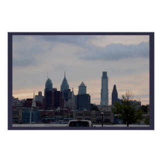 Delaware River Sunset Photo Poster