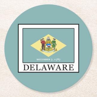 Delaware Round Paper Coaster