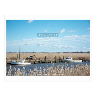 Delaware rural y salvaje postal