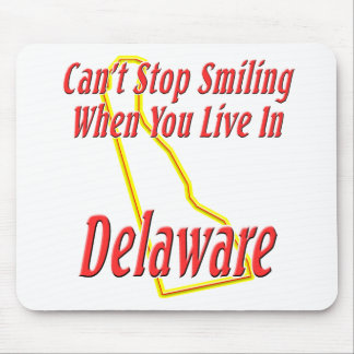 Delaware - Smiling Mouse Pad
