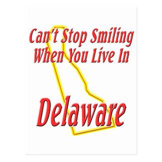 Delaware - Smiling Postcard