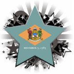 Delaware Star Photo Cutouts