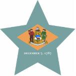 Delaware Star Photo Sculpture