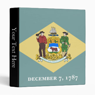 Delaware State Flag Binder