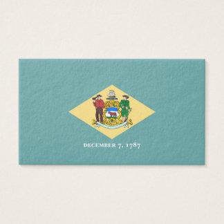 Delaware State Flag Design Business Card