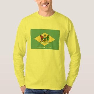 Delaware State Flag Design Decor T-Shirt